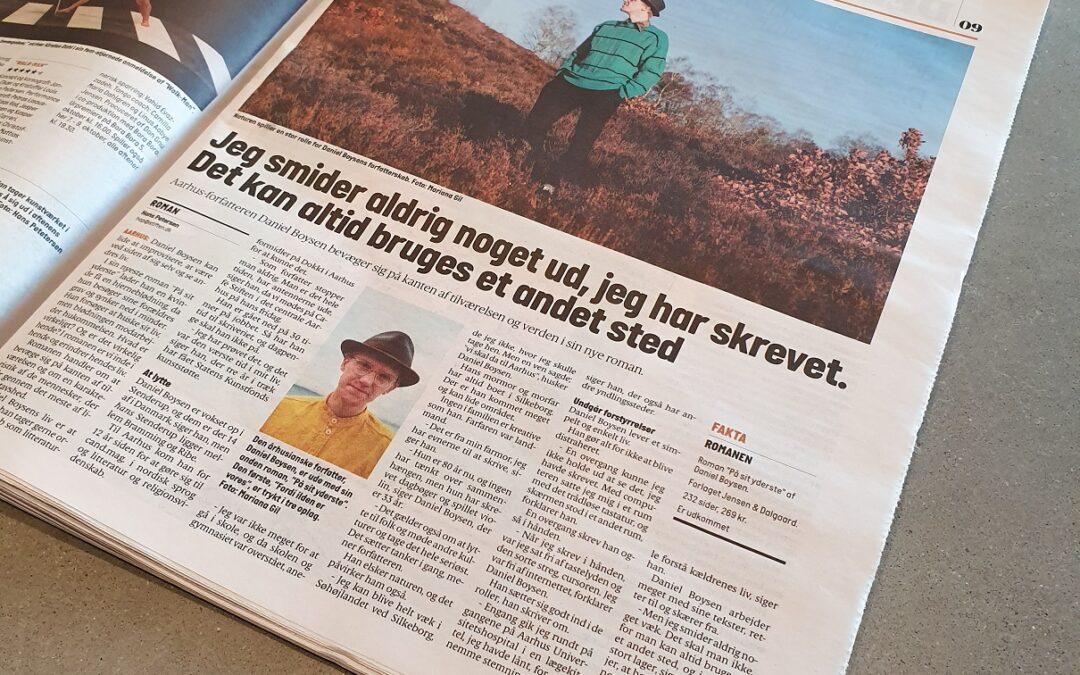 Interview i Aarhus Stiftstidende